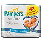 Pampers Sensitive Baby Wipes Refill 4 x 56 per pack