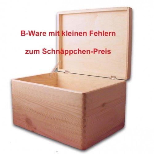 b ware aufbewahrungsbox holzkiste mit deckel ohne griffl cher kiefer gr 3 europaletten kaufen. Black Bedroom Furniture Sets. Home Design Ideas