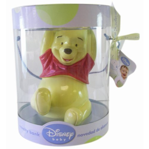 Disney Winnie the Pooh Resin Novelty Bank - 1