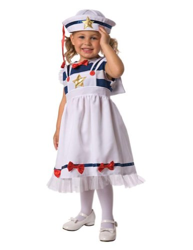 Baby-boys - Sweet Sailor Toddler Costume 3-4 Halloween Costume