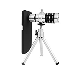 XIAOMI MI 4 12X TELESCOPE LENS KIT SET - ZOOM LENS, BACK COVER & MOBILE TRIPOD