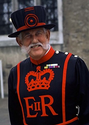 [Beefeater in Costume at the Tower of London, London, England Poster Print by Bill Bachmann (17 x] (Beefeater Costumes)