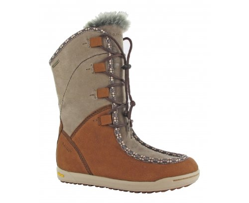 HI-TEC Sierra Somoni 200 WP Ladies Winter Boot, Tan, US11