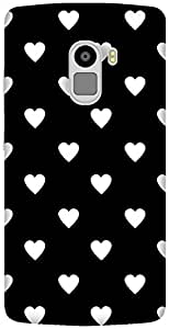 The Racoon Grip printed designer hard back mobile phone case cover for Lenovo K4 Note. (Ebony and)