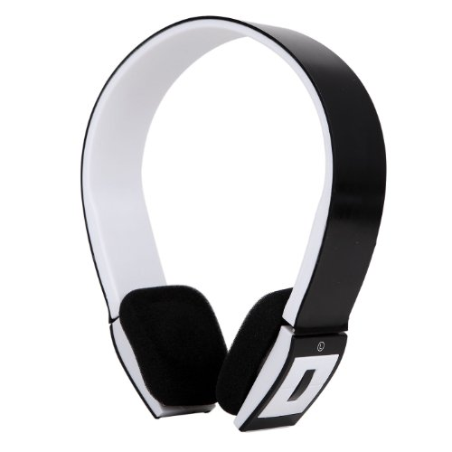 Hde Slim Wireless Bluetooth V3.0 Stereo Headset For Ps3, Tablets, Mp3 Players, And Other Bluetooth Devices (Black)