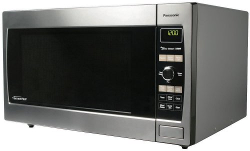Panasonic NN-SD967S 2.2 cuft, 1250 Watt Stainless Steel Microwave Oven, Inverter Technology