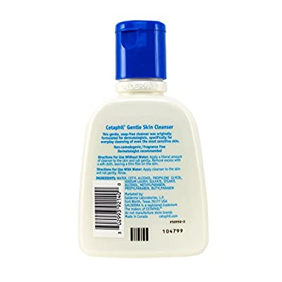 Cetaphil Gentle Skin Cleanser Bottles, 4 Fluid Ounce by Cetaphil