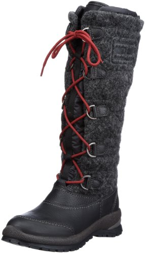Tommy Hilfiger BRITT 5 A Boots Womens Gray Grau (PEWTER/BLACK 050) Size: 7 (41 EU)