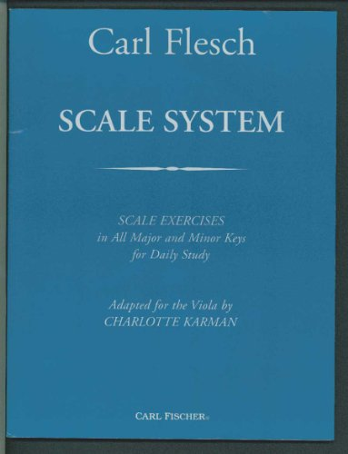 Scale System : Scale Exercises in All Major and Minor Keys for Daily Study