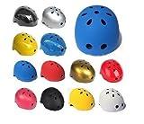 軽量 シンプル スポーツ ヘルメット 子供 や 大人 まで 選べる サイズ カラー 自転車 スケートボード キックボード ローラー スケート ウォーター スポーツ