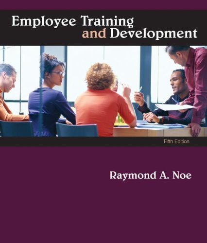 Employee Training & Development, 5th Edition