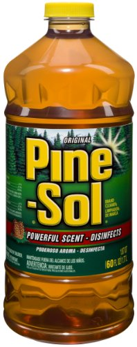 Pine-Sol Cleaner, Original, 60-Fluid Ounce Bottles (Pack of 6)