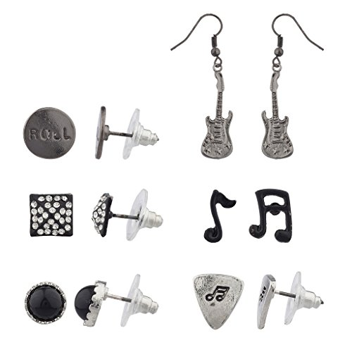 lux-accesorios-dobladillo-tono-rock-n-roll-pendientes-set-6pc