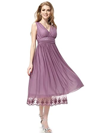 HE0279BPP08, Purple, 6US, Ever Pretty Mother of the Bride Dresses 0279B