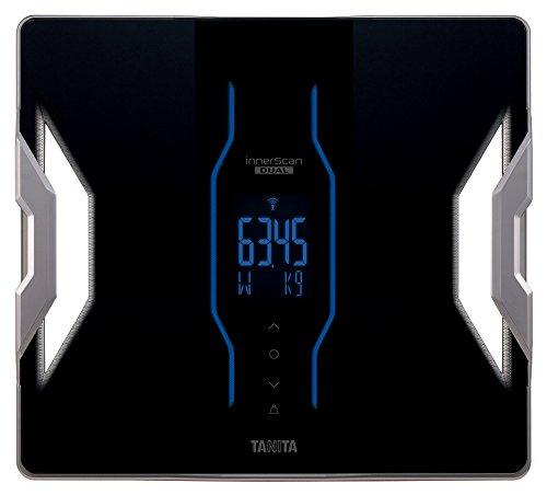 タニタ 体組成計 インナースキャンデュアル RD-903-BK(ブラック) 世界初の筋質点数表示/最小表示50g/iPhone・Androidアプリで健康管理