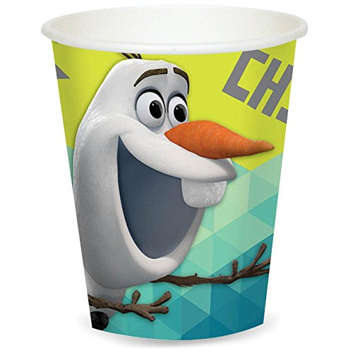 Disney Frozen 'Olaf' 9oz Paper Cups (8) - 1