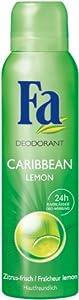Fa Deospray Caribbean Lemon , 6er Pack (6 x 150 ml)