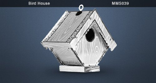 Metal Earth 3D Metal Model - Bird House