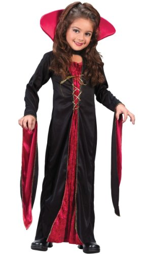 Victorian Vampiress Costume - Child Costume