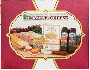 Hillshire Farm Holiday Classic Collection Sausage, Cheese, Mustard & Crackers Gift Set, 35 Ounces
