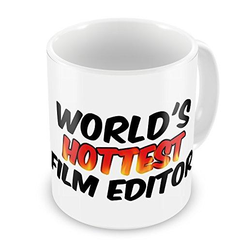 Coffee Mug Worlds Hottest Film Editor - Neonblond