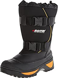 Baffin Men\'s Wolf Snow Boot,Black/Expedition Gold,11 M US