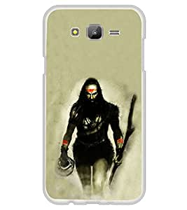 ifasho Siva in smasan Back Case Cover for Samsung Galaxy E7