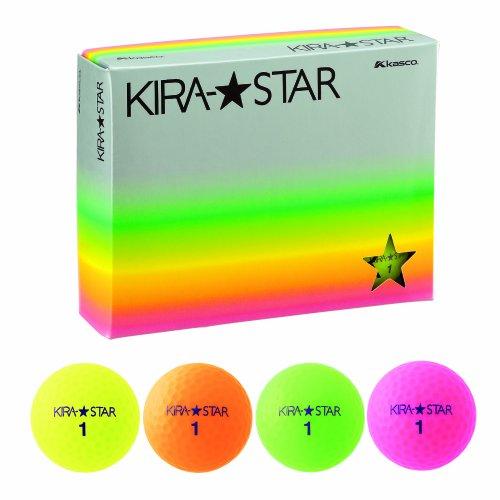 キャスコ(Kasco) KIRASTAR2 4色 1ダース