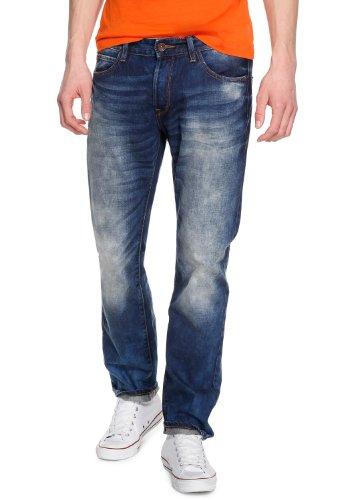 QS by s.Oliver Herren Relaxed Jeans 40.403.71.8005, Gr. W38/ L34 (Herstellergröße: 38), Blau (denim)