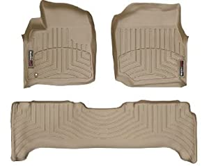 1998-2007 Toyota Land Cruiser Tan WeatherTech Floor Liner (Full Set)