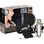 Rode Microphones NT1-A Condenser Mic Bundle/マイク/マイクロフォン/Microphone【並行輸入品】