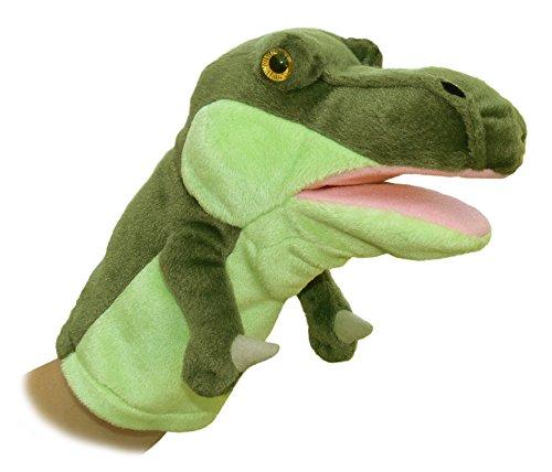 """Aurora World 10"""" Iguanodon Dinosaur Puppet"""