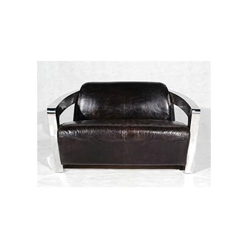Amazon.com - Sinclair 2 Seater Sofa With Metal Arm -