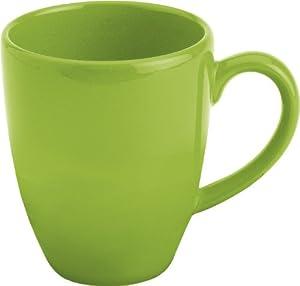 Waechtersbach Fun Factory II Green Apple Jumbo Cafelatte Mugs, Set of 4