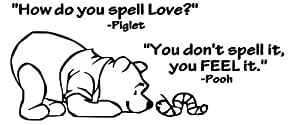 Lovedecals How Do You Spell Love Winnie The