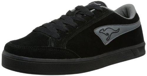 KangaROOS Mens Bert II Trainers Black Schwarz (black/dark grey) Size: 8 (42 EU)