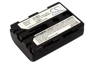 Batería para Sony DCR-DVD301, 7.4V, 1300mAh, Li-ion
