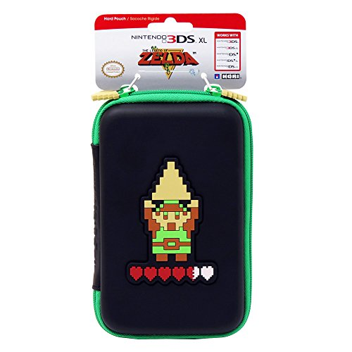 Hori Retro Zelda Hard Pouch for New 3DS XL and Nintendo 3DS XL 10 pcs new for nintendo 3ds xl oem original new led speaker flex ribbon cable for 3ds xl