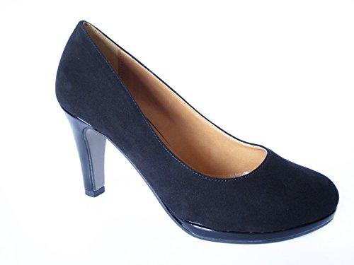 Decollete Cinzia Soft con tacco 8cm. e plateau 1cm., elegante