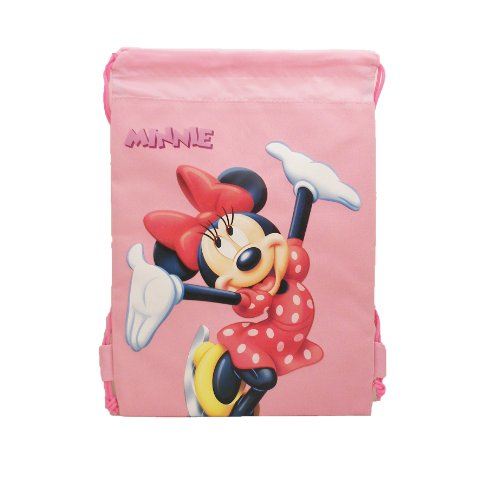 Disney Minnie Mouse Sling Backpack - Minnie Drawstring Backpack - 1