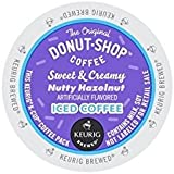 Donut Shop Sweet & Creamy Nutty Hazelnut Iced Coffee K-Cups for Keurig Brewers - 22 Count
