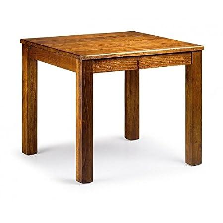 Moycor - Mesa star comedor con madera, tamaño 90 x 90 x 78