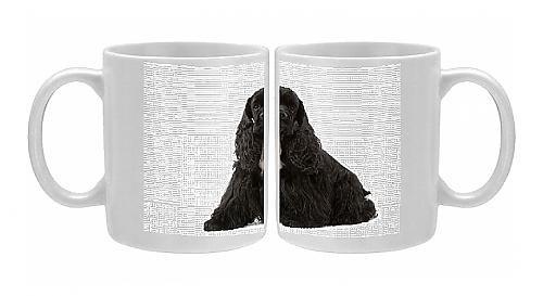 Photo Mug Of American Cocker Spaniel - Black From Ardea Wildlife Pets front-579520