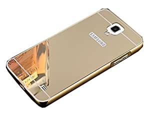 Novo Style Luxury Shiny Bling Glitter Metal Clear Aluminum Frame Cover Ultra Thin Slim Bumper Hard Back Case Cover For Samsung Galaxy Note 3 Neo - Golden