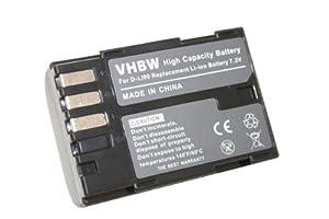 Batterie LI-ION compatible pour PENTAX D-Li90, Pentax K-01, K5 II, K5 IIs remplace Pentax K7 D-SLR