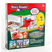 Elmo Story Reader Special Edition Library Set With Microphone