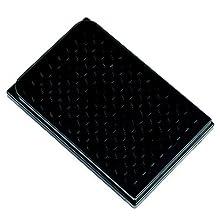 Sterilin 539224-09 Black Polystyrene Non-Sterile 96-Well Microtiter Plate, 400 microliter Volume, Flat Bottom (Case of 50)