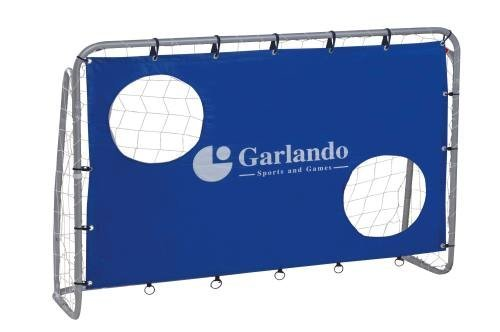 Garlando Porte Calcio/Calcetto Porta Classic Goal Cm. 180X120 Con Bersagli silver