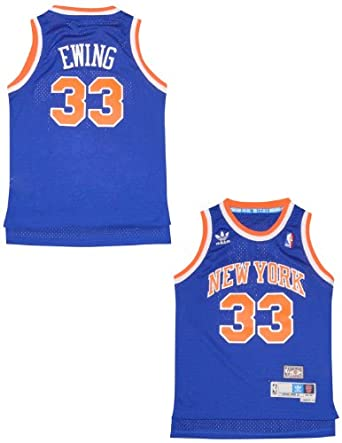 LIMITED EDITION: NBA New York Knicks Ewing #33 Youth Jersey Top by NBA