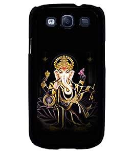 printtech Lord God Ganesha Back Case Cover for Samsung Galaxy S3::Samsung Galaxy S3 i9300